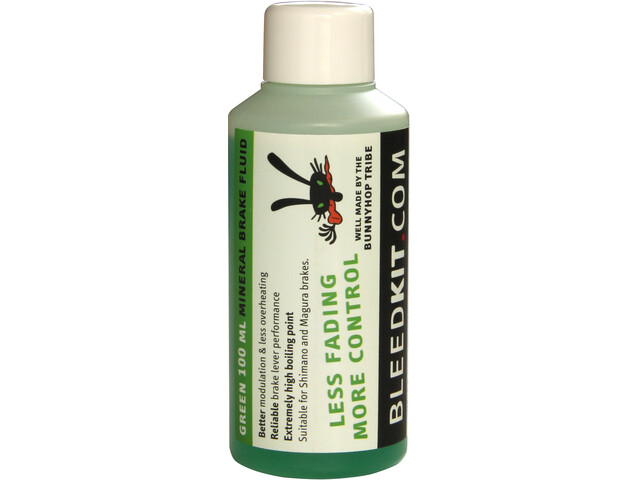 Bleedkit Green Mineral Brake Fluid 100ml